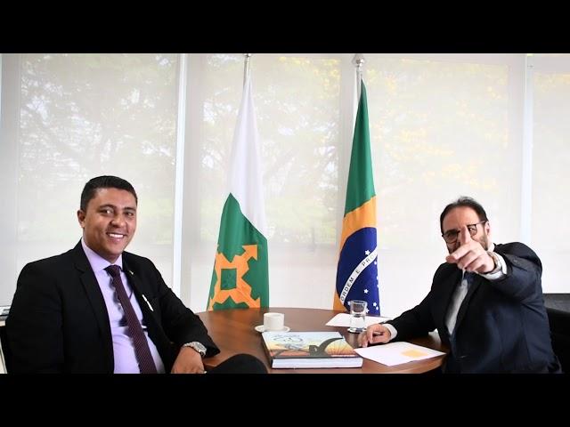 Entrevista com Secretário MAURO ROBERTO DA MATA