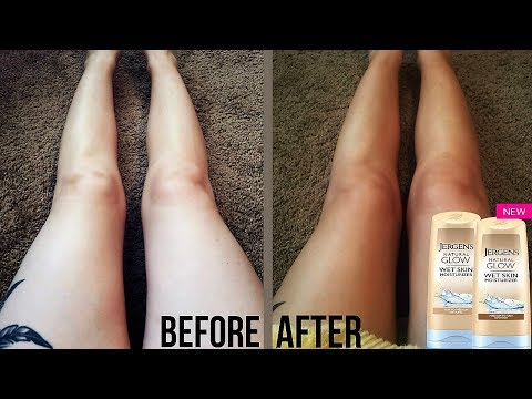 Jergens Natural Glow Wet Skin Moisturizer Review