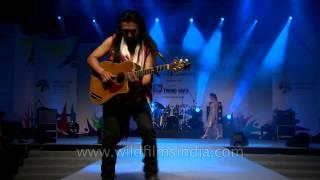 Rocking performance by Guru Rewben Masangva: North East Fest