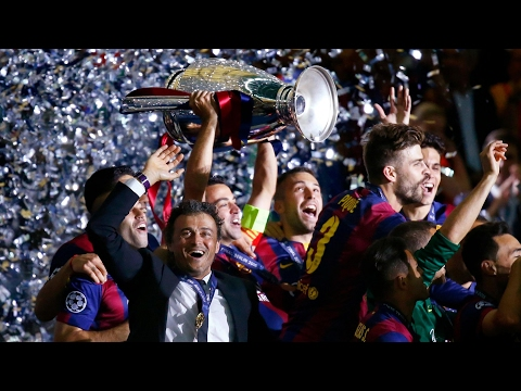 Luis Enrique announces he will leave Barcelona at the end of the season – video report