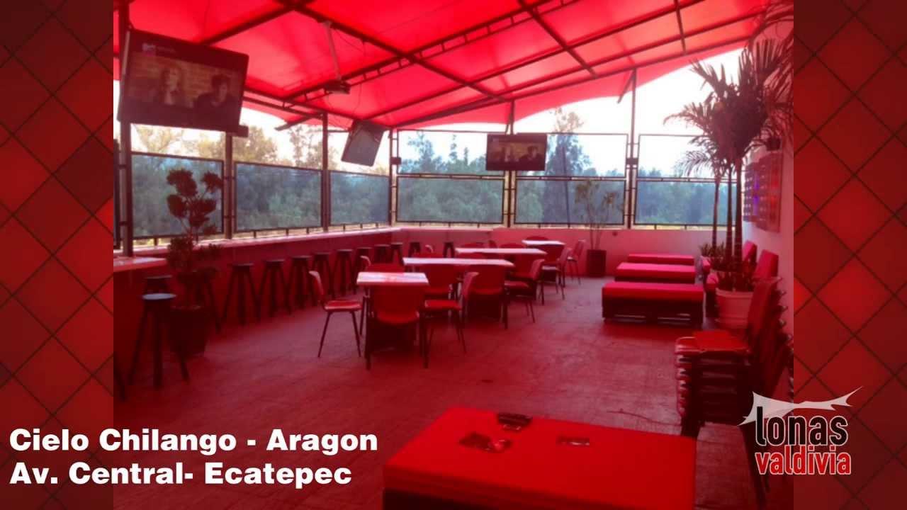 Cielo chilango proyecto terraza bar lonas valdivia - Lonas para terrazas ...