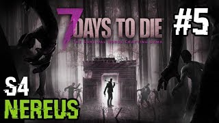►Let's Play◄ 7 Days to Die [CZ/PC] | Pec a workbench |S4| Part #5 |