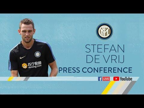 STEFAN DE VRIJ | PRESS CONFERENCE | Inter 2018/19 🎙️⚫️🔵