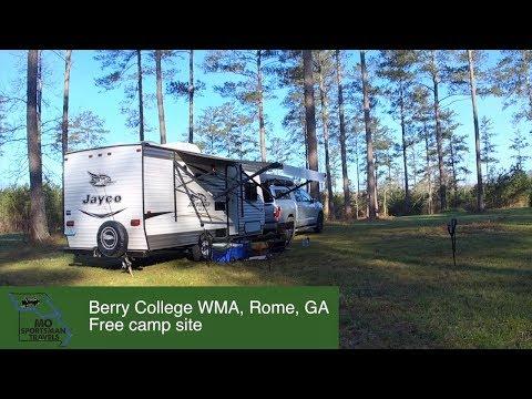 Berry College WMA, Rome, GA | Free Campsite | Georgia