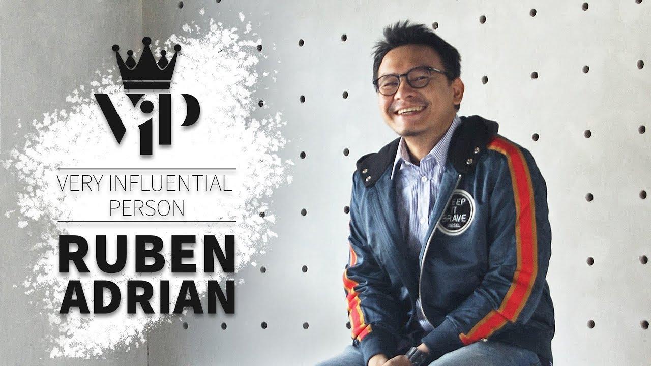 Ruben Adrian, Berani Berubah Demi Passion - Kincir