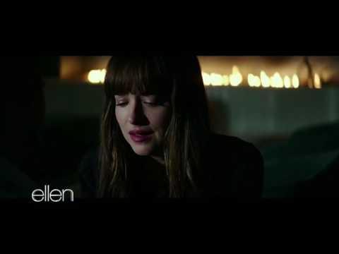 Fifty Shades Darker clip shown on Ellen in HD