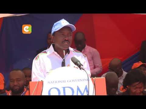 Kalonzo, Mudavadi join Odinga at ODM fete