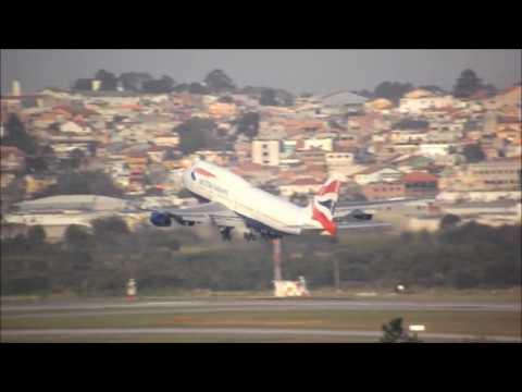 Takeoff - Boeing 747-436 British Airways