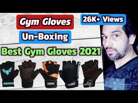 Gym Gloves Unboxing | Best Gym Gloves With Wrist Support | Best Gym Gloves 2020