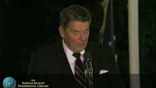 President Reagan's remarks at JFK Library Fundraiser - 6/24/85