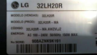 LG 32LH20R não liga, dando um banho, com dica de eletrolítico