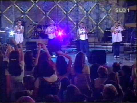 Backstreet Boys - I Never Break Your Heart & Get Down (Poglej in Zadeni) In Slovenia '97