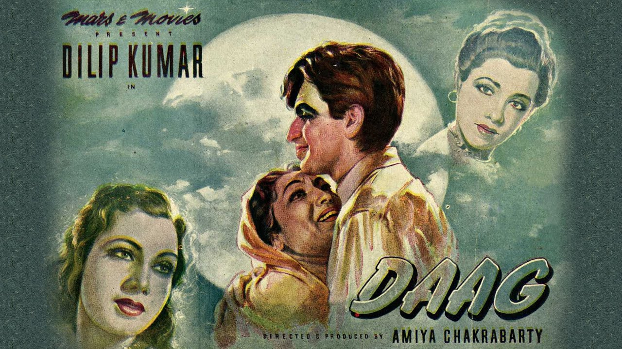 Daag (1952) Hindi    Dilip Kumar    Nimmi    Lalita Pawar (Full Movie) - YouTube