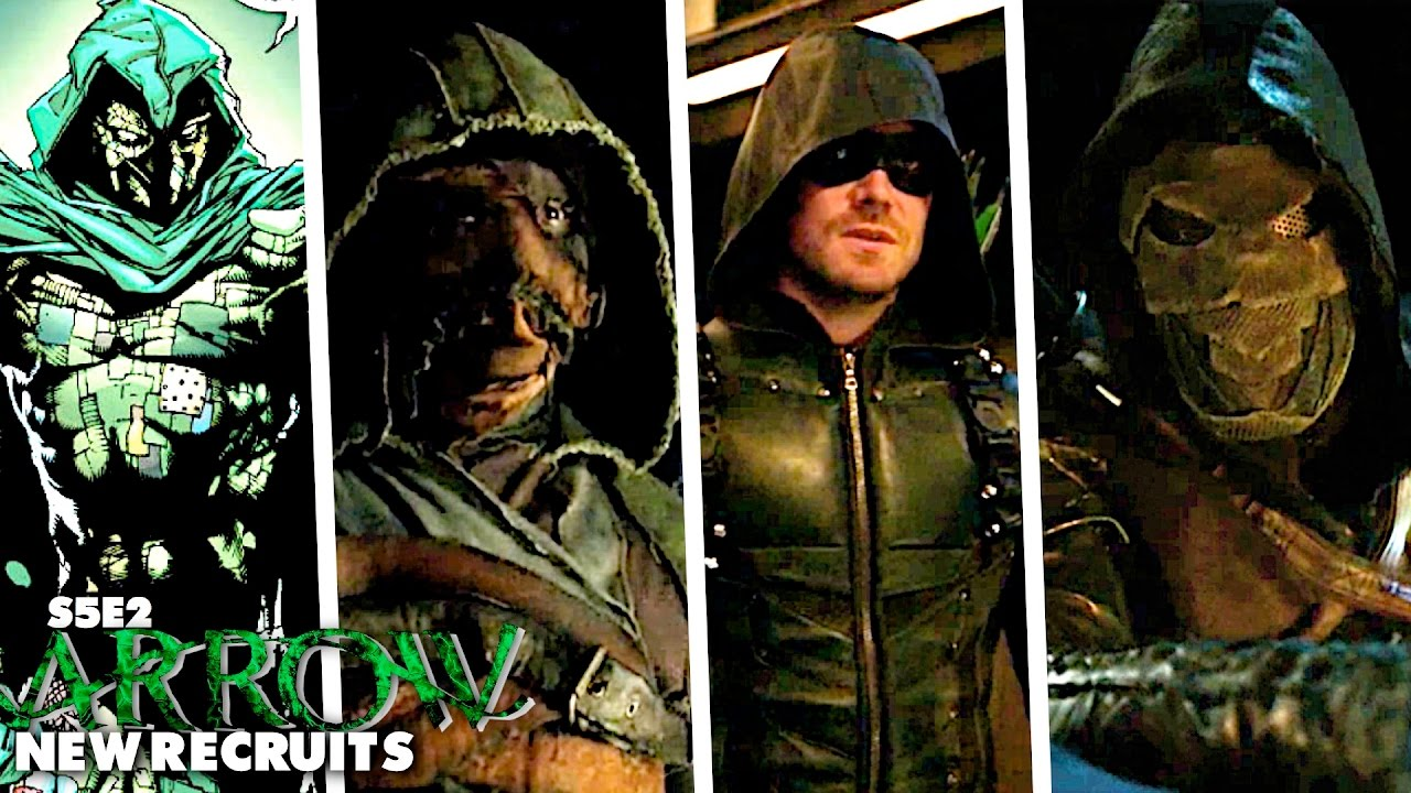 Prometheus Reveal Questions Who Is Ragman Arrow S5e2 Full