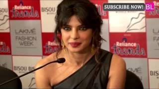 Priyanka Chopra walks for Reliance Trends at Lakme Fashion Week! Thumbnail