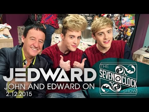 Jedward on The Seven O'Clock Show