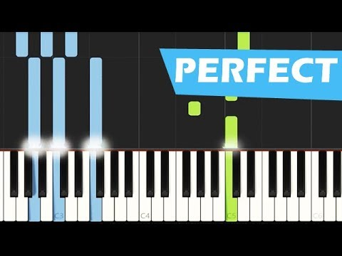 How to play PERFECT by Ed Sheeran easy version