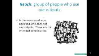 Outcomes Planning: Terms and language