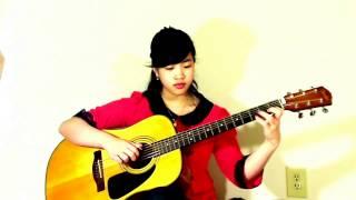 Thành Phố Buồn (Cover Virginia Nguyen - Bé Mẫn) Guitar Solo
