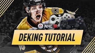 NHL 18 NEW DEKES TUTORIAL - XBOX ONE & PS4