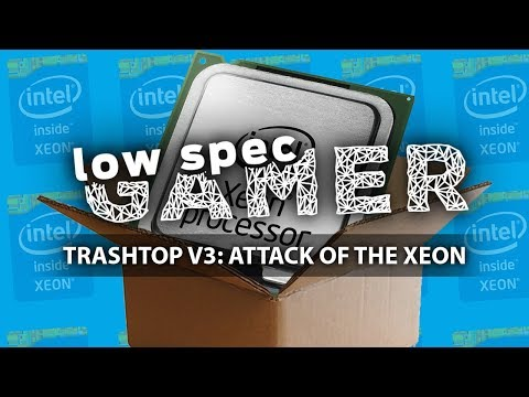 TrashTop Xeon: €170 gaming PC with + super low budget Gaming CPU (Overwatch, PUBG, Destiny 2, more)
