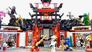 レゴ ニンジャゴー 70670 ニンジャ道場 LEGO NINJAGO Monastery Of Spinjitzu - Wu Jay Nya Zane Cole Lloyd Kai Wyplash