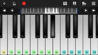 Rukh zindagi ne mod liya Unplugged Piano Cover(Perfect Piano)