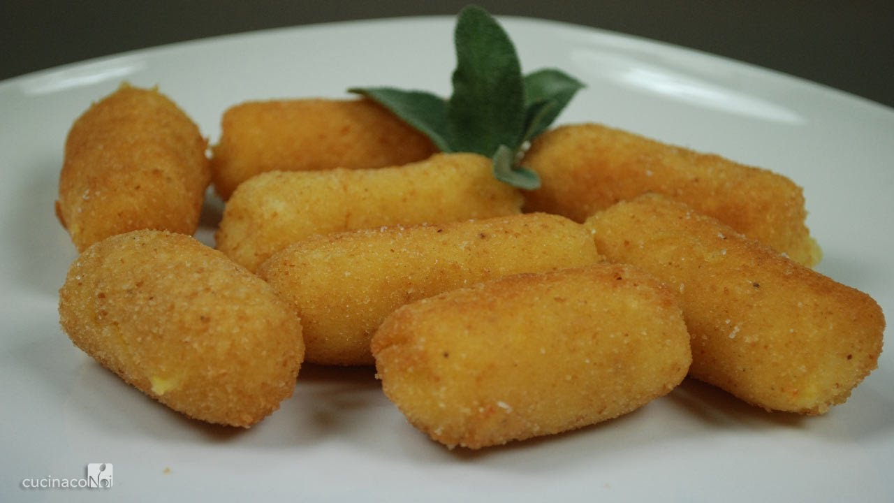 Potato Croquettes - YouTube