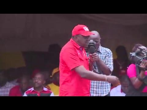 PSCU Kenya -Ihura Stadium, Muranga rally