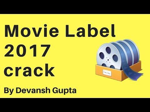 Movie Label 2017 12.0.1 Build 2511 crack