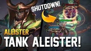 Strike of Kings: TANK ALEISTER!! Aleister Gameplay