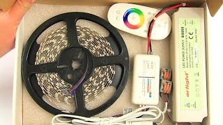 Готовый набор для многоцветной подсветки потолка, мощность 14 ватт(Изготовим набор для светодиодной подсветки потолка. Персонально по вашим размерам. Качество высокое. Гаран..., 2015-02-01T23:28:50.000Z)