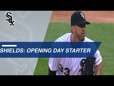 James Shields is Ready to Take the Mound on Opening Day!