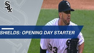 james shields is ready to take the mound on opening day