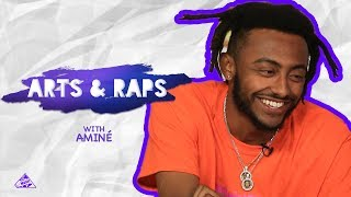 Kids Ask Aminé How It Felt To Roast Donald Trump | Arts & Raps