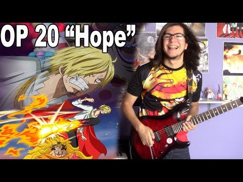 "ONE PIECE OP 20 - Namie Amuro ""Hope"" 【Rock Cover】"