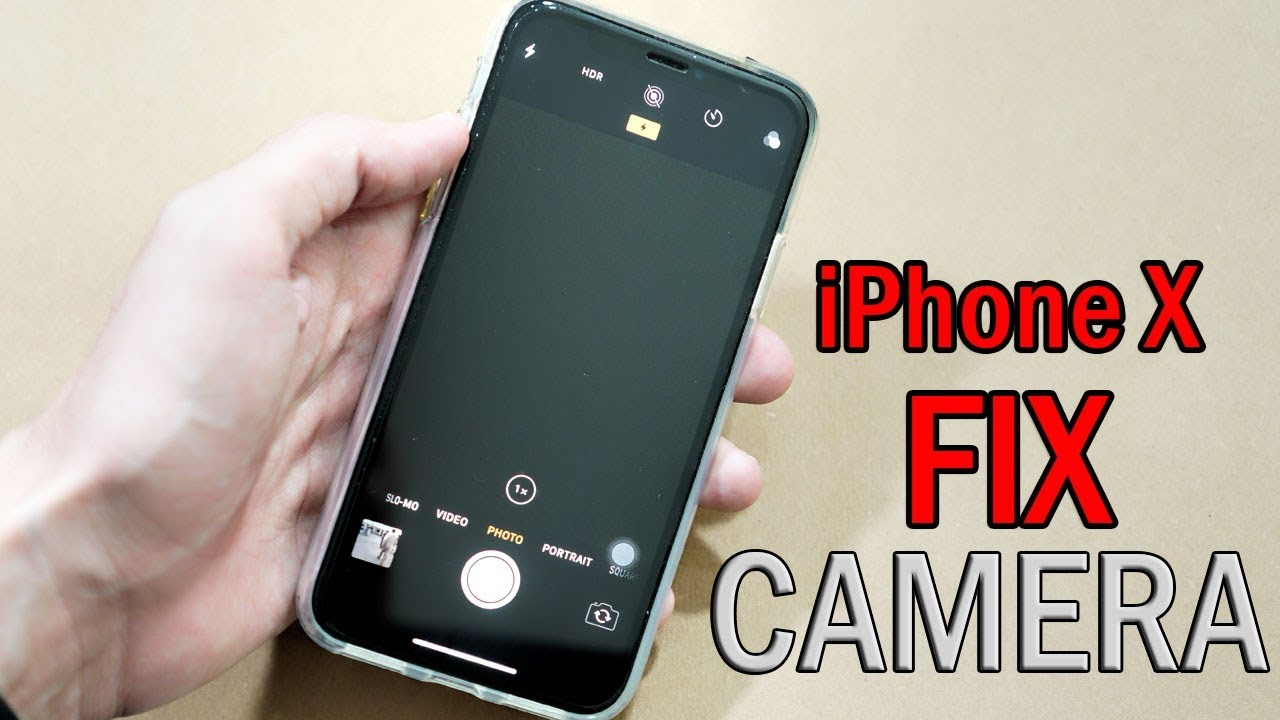 size 40 a07e2 47402 How to Fix Black Camera Issue on iPhone X/XS Max [FIXED]
