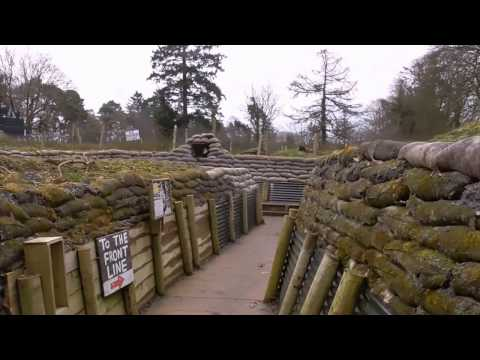 Biggest WW1 Replica Trench in British Isles Created Co Cavan