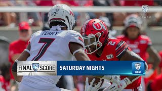 Highlights: Utes shut out Huskies in second half to improve to 2-0
