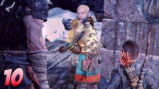 God Of War Walkthrough Gameplay Part 10 - The Stone Ancient 🔥 (God of War 4) (2018)