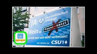"""""""Ausgehetzt""""-Demo: Plakataktion der CSU gegen eine Kundgebung - WELT"""