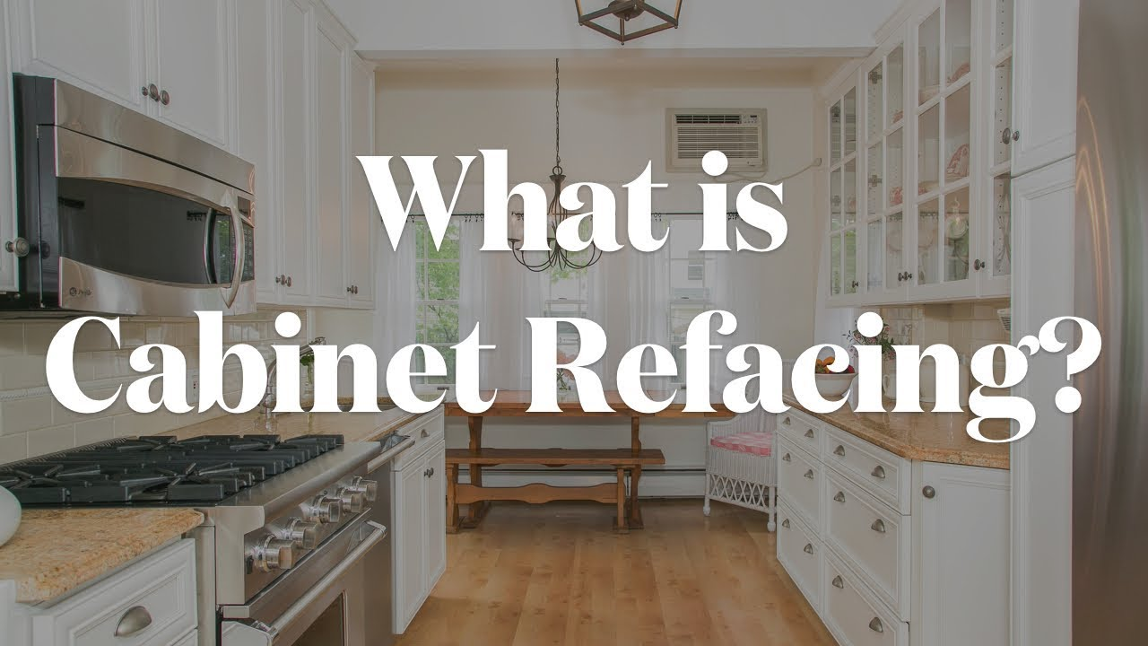 What is Kitchen Cabinet Refacing with Kitchen Magic?