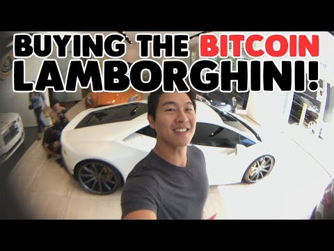 Buying The Bitcoin Huracan Lamborghini!!! #TheBitcoinLambo