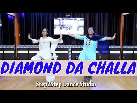 Diamond Da Challa   Wedding Dance   Easy Steps For Girls   Choreography Step2Step Dance Studio