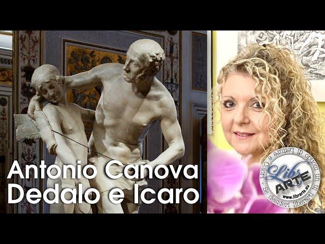 Dedalo e Icaro di Antonio Canova