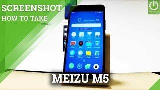 how to take a screenshot on Meizu M5