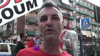 Gianni Leone - Corteo e comizio contro il suo licenziamento politico