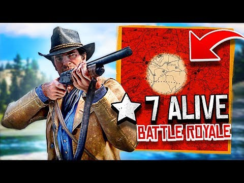 Red Dead Online BATTLE ROYALE Game Mode! (Red Dead Redemption 2 Online Gameplay)