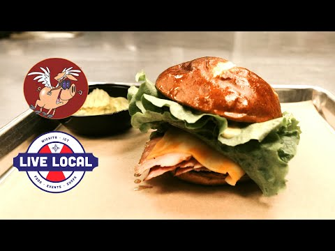 Smoked Ham & Cheese Special At When Pigs Fly! BBQ | Live Local Wichita