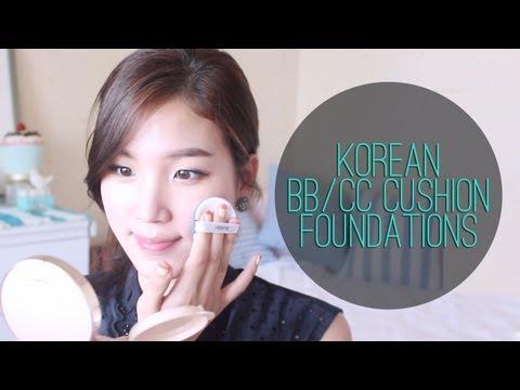 Korean BB/CC Cushion Foundation Review & Demo ♥ Laneige, HERA, Verite, IOPE, Amorepacific